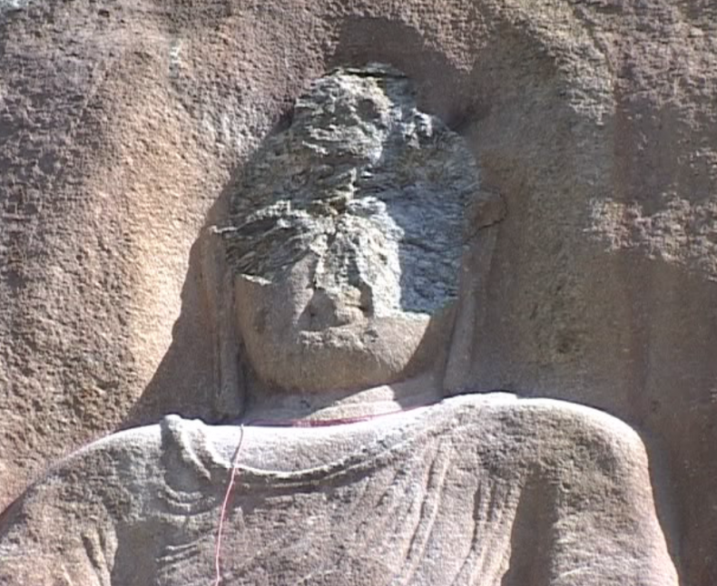 Buddha Statue Dynamited in Swat