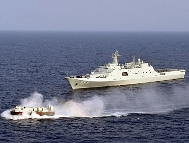 South China Sea: Days Before International Court Verdict, Chinese Navy Stages Live-Fire Drills