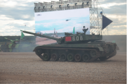 China Reveals New Main Battle Tank
