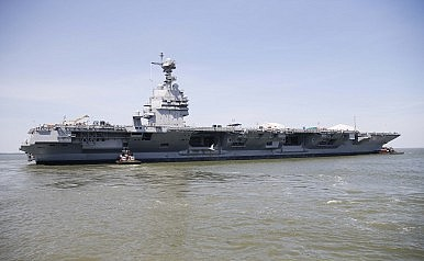 US Navy's New Supercarrier Will Take to Sea This Week
