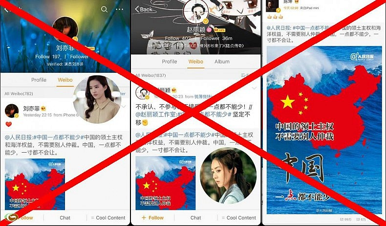 anti china online campaign