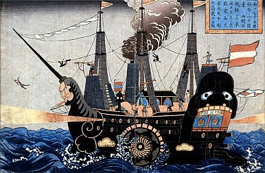 Perry in Japan, War in the Pacific, and the Rise of China