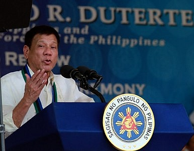 Duterte, Regional Security and the South China Sea