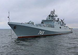 Russia Kicks Off Work on 2 Guided Missile Frigates for Indian Navy