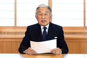 Japan's Emperor Hints at Abdication in Televised Address