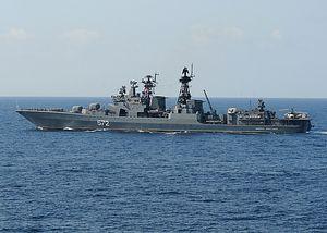 Russia to Send Anti-Submarine Warfare Destroyers to South China Sea