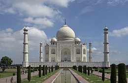 The Slow Decay of the Taj Mahal