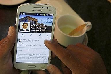 Cambodia's Facebooker-in-Chief