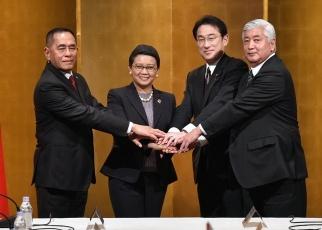 Japan, Indonesia Eye Stronger Defense Ties