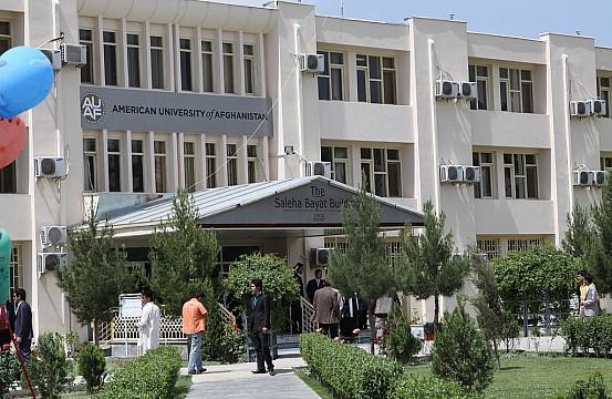 2016 08 American University Of Afghanistan In American