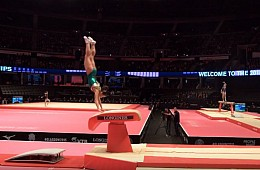 Uzbekistan's Amazing Record-Setting Gymnast Takes on Rio
