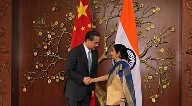 China's Top Diplomat Visits India as East and South China Seas Simmer