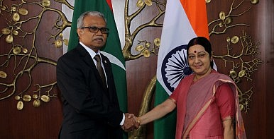 Foreign Ministers of India, Maldives Discuss Indian Ocean Security
