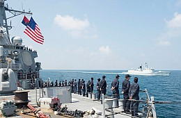China and US Navies Conduct Joint Search and Rescue Drill