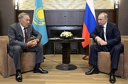 Nazarbayev the Mediator Sets Sights on Ukraine Crisis