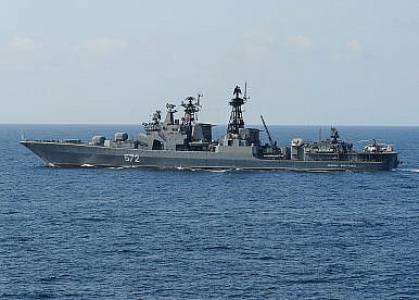Russia to Send Anti-Submarine Warfare Destroyers to South China Sea