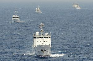 4 China Coast Guard Vessels Enter Disputed East China Sea Waters