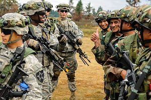 India and US Hold Joint Military Exercise Near Chinese Border