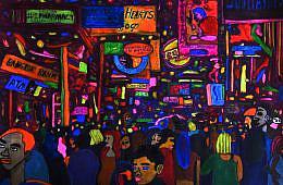 Painting the Bangkok Night