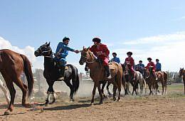 American Cowboys in Kyrgyzstan