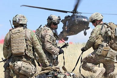 US Army to Deploy 1,400 Airborne Troops to Afghanistan