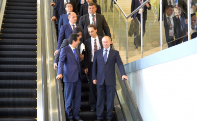 Shinzo Abe Going All In on Improving Japan-Russia Ties