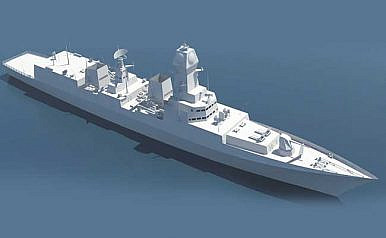 India's Most Powerful Destroyer: Navy to Launch Second Project 15B Warship