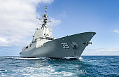 Australia's Most Powerful Warship Completes Sea Trials