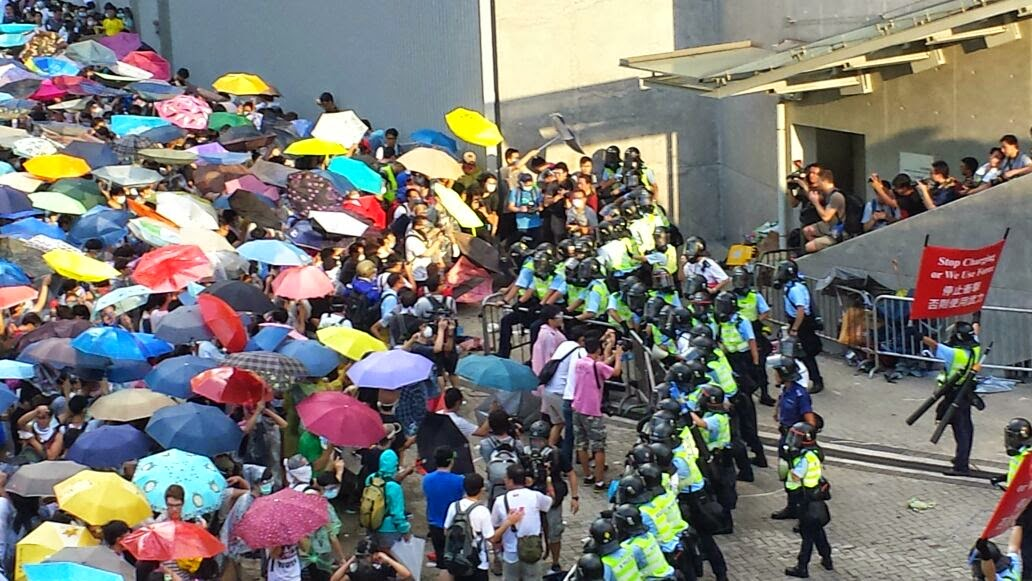 Image result for umbrella movement hong kong