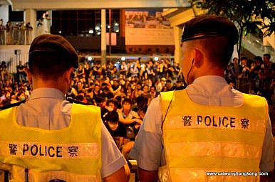Hong Kong Police Officers Sentenced to Jail for Beating Umbrella Movement Protester