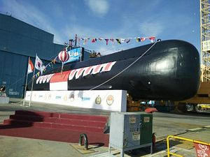 South Korea Launches 2nd Indonesian Attack Submarine