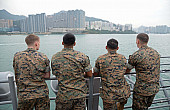 2 US Warships Make Port Call in Hong Kong