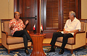 ASEAN in the Spotlight in Philippine Defense Chief's First Singapore Visit