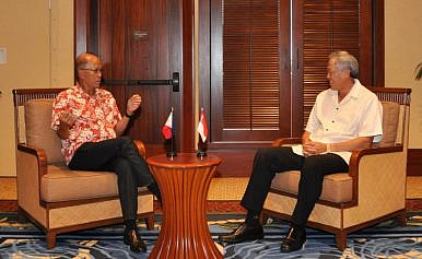 Philippines, Singapore Discuss Defense Relations Amid US-ASEAN Meeting
