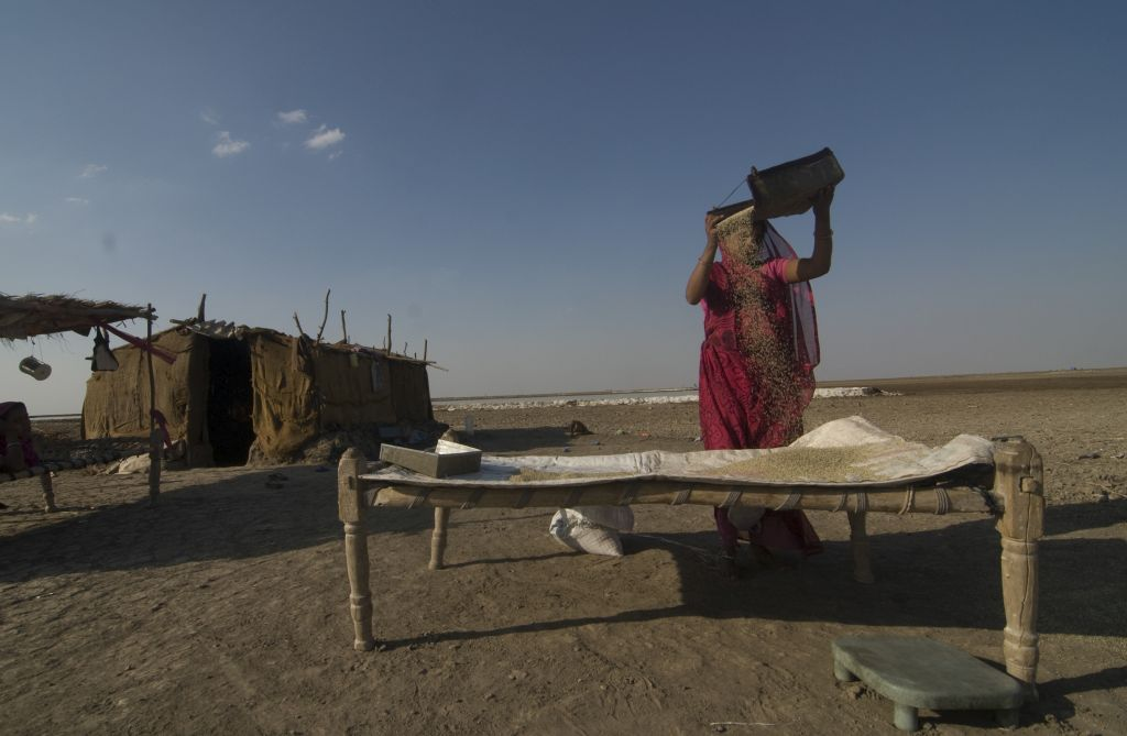 The Salt Farmers of the Rann of Kutch
