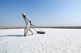 The Salt Farmers of the Rann of Kutch