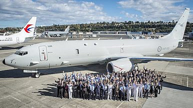 Boeing Rolls out Australia's 1st New Sub-Hunting Plane
