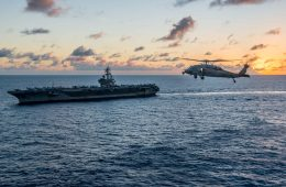 US Supercarrier Prepares to Deploy in the Pacific
