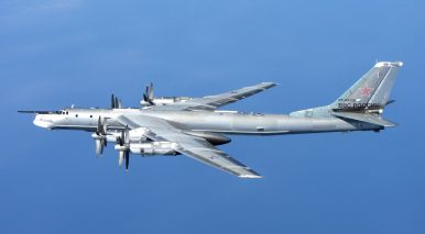 Japanese Fighter Jets Intercept Russian Bombers