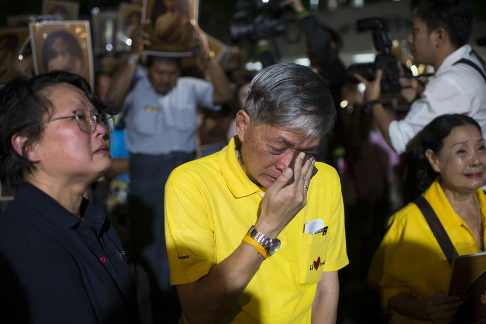 Thailand Mourns King Bhumibol Adulyadej