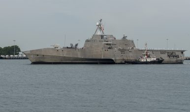 Conventional Deterrence: Littoral Combat Ship Arrives in Singapore