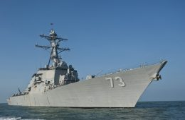 US Navy Destroyer Conducts Freedom of Navigation Operation Near Gaven, Johnson Reefs