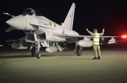 United Kingdom and Japan Hold First-Ever Joint Fighter Exercise