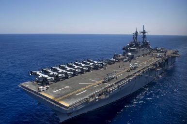 US Sends Upgraded Warship Capable of Operating F-35 to Japan