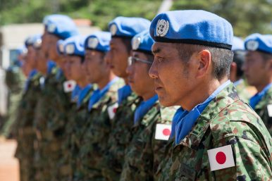 Reluctant Military Power: Japan Opposes South Sudan Arms Embargo