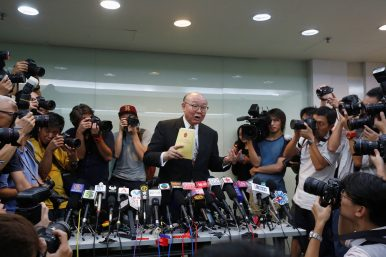 Hong Kong Has Its First Contender for Next Chief Executive