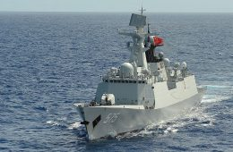 South China Sea: PLAN Conducts Drill Off Hainan Island