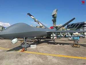 New Variant of China's CH-5 Combat Drone Boasts Extended Endurance and Range