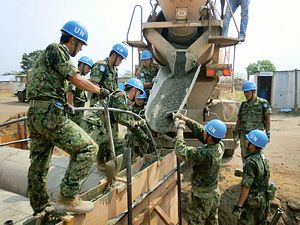 Japan's Military Deploys Abroad With New Rules of Engagement