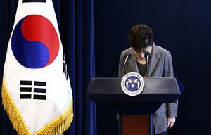 South Korean President Leaves Her Fate To Feuding Lawmakers